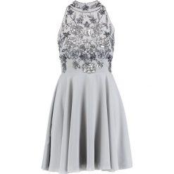Sukienki hiszpanki: Lace & Beads Petite REISE SKATER Sukienka koktajlowa grey