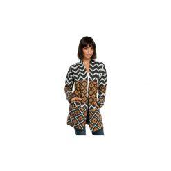 Kardigany damskie: Swetry rozpinane / Kardigany Be  BK007 Kardigan w aztecki wzór - model 1