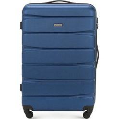 Walizka duża 56-3A-363-90. Niebieskie walizki marki Wittchen, duże. Za 219,00 zł.