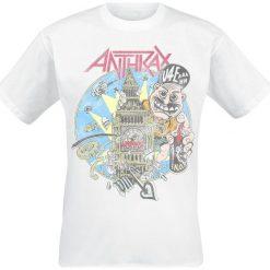 Anthrax London 1988 T-Shirt biały. Białe t-shirty męskie Anthrax, xl. Za 74,90 zł.