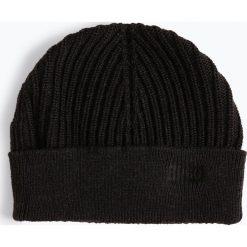 HUGO - Czapka męska – Xianno 1, szary. Szare czapki męskie HUGO, z dzianiny. Za 219,95 zł.