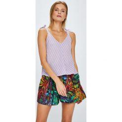 Answear - Top Violet Kiss. Szare topy damskie ANSWEAR, l, z bawełny. W wyprzedaży za 59,90 zł.