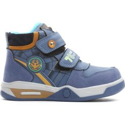 Niebieskie Buty Sportowe Monsoon. Niebieskie buty sportowe chłopięce Born2be, z materiału, z okrągłym noskiem, na zamek. Za 69,99 zł.