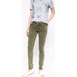 Medicine - Jeansy Nocturne. Szare jeansy damskie marki MEDICINE, z bawełny, z podwyższonym stanem. W wyprzedaży za 59,90 zł.