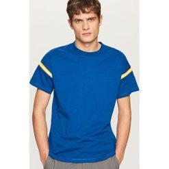 T-shirty męskie: T-shirt biker race – Granatowy