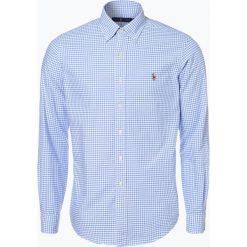 Polo Ralph Lauren - Koszula męska, niebieski. Niebieskie koszule męskie w kratę marki Polo Ralph Lauren, m, z bawełny, z klasycznym kołnierzykiem. Za 349,95 zł.
