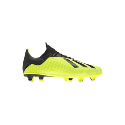 Buty do piłki nożnej X 18.3 SG korki. Żółte buty skate męskie marki Adidas, do piłki nożnej. Za 349,99 zł.