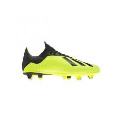 Buty do piłki nożnej X 18.3 SG korki. Żółte buty skate męskie Adidas, do piłki nożnej. Za 349,99 zł.