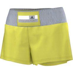 Spodenki sportowe męskie: Adidas Spodenki damskie Stella McCartney Woven Short żółte r. XS (S21210)