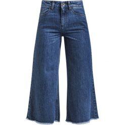 Urban Classics Ladies Denim Culotte Jeansy damskie niebieski. Niebieskie boyfriendy damskie Urban Classics, z denimu. Za 121,90 zł.