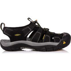 Sandały męskie: Keen Sandały męskie Newport H2 Black r. 42,5 (1001907)