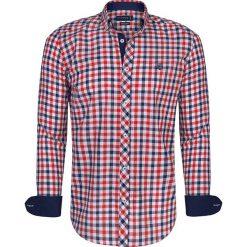 """Koszule męskie na spinki: Koszula """"Pau"""" w kolorze czerwono-biało-niebieskim"""