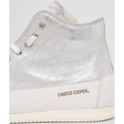 Tenisówki damskie: Candice Cooper PLUS SHEARLING Tenisówki i Trampki wysokie monet silver/base vit bianco