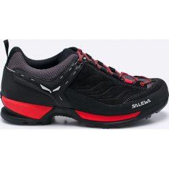 Salewa - Buty. Czarne buty trekkingowe męskie Salewa, z materiału, na sznurówki, outdoorowe. W wyprzedaży za 569,90 zł.