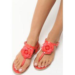 Czerwone Sandały Tangle. Czerwone sandały damskie Born2be, na obcasie. Za 19,99 zł.
