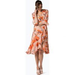 Y.A.S - Sukienka damska – Yascacco, różowy. Czerwone sukienki hiszpanki Y.A.S, s, w kwiaty, z kopertowym dekoltem, kopertowe. Za 339,95 zł.