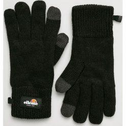 Ellesse - Rękawiczki. Czarne rękawiczki męskie Ellesse, z dzianiny. W wyprzedaży za 99,90 zł.