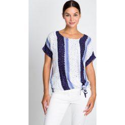 Bluzki damskie: Wiązana bluzka oversize  QUIOSQUE