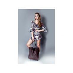 Torba basic brąz. Brązowe torebki klasyczne damskie marki ARTENGO, z materiału. Za 130,00 zł.