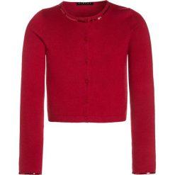 Sisley Kardigan red. Czerwone swetry chłopięce Sisley, z bawełny. W wyprzedaży za 126,75 zł.