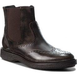 Sztyblety GEOX - D Prestyn D D745WD 038PV C6024 Dk Coffee. Brązowe buty zimowe damskie Geox, z materiału. W wyprzedaży za 279,00 zł.