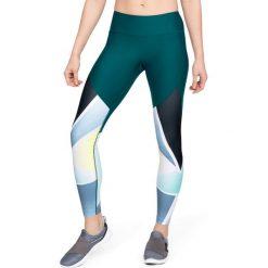 Spodnie damskie: Under Armour Legginsy damskie Balance Q1 Graphic Legging zielone r. M (1305436-716)