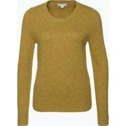 Brookshire - Sweter damski, żółty. Czarne swetry klasyczne damskie marki brookshire, m, w paski, z dżerseju. Za 149,95 zł.