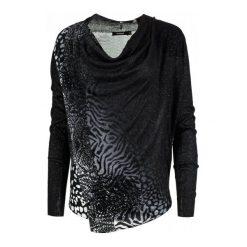 Desigual Sweter Damski Adeline Xs Czarny. Szare swetry klasyczne damskie marki Desigual, l, z tkaniny, casualowe, z długim rękawem. W wyprzedaży za 179,00 zł.