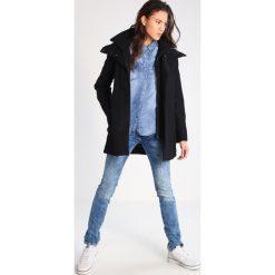 Płaszcze damskie pastelowe: KIOMI Krótki płaszcz black