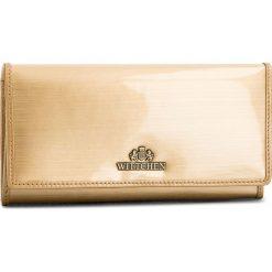 Duży Portfel Damski WITTCHEN - 25-1-052-GB Golden. Żółte portfele damskie Wittchen, z lakierowanej skóry. W wyprzedaży za 199,00 zł.
