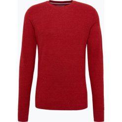 Tommy Hilfiger - Sweter męski, czerwony. Czerwone swetry klasyczne męskie TOMMY HILFIGER, m, z dzianiny. Za 349,95 zł.