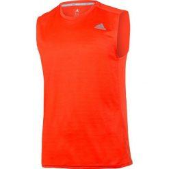 Adidas Koszulka biegowa Response Sleeveless Tee pomarańczowa r. S. Brązowe koszulki sportowe męskie Adidas, m. Za 103,47 zł.