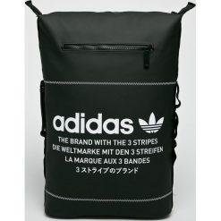 Adidas Originals - Plecak Nmd Bp. Czarne plecaki damskie adidas Originals, w paski, z materiału. W wyprzedaży za 239,90 zł.