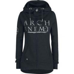 Bluzy damskie: Arch Enemy EMP Signature Collection Bluza z kapturem rozpinana damska czarny