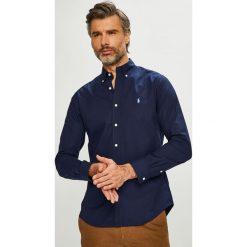 Polo Ralph Lauren - Koszula. Czarne koszule męskie na spinki marki Polo Ralph Lauren, l, z bawełny, button down, z długim rękawem. Za 429,90 zł.