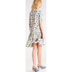 Sukienki hiszpanki: YAS YASLEAF Sukienka letnia oatmeal
