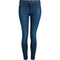 Spodnie z wysokim stanem: Spodnie J BRAND ALANA HIGH RISE CROPPED Niebieski