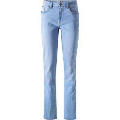 """Spodnie z wysokim stanem: Dżinsy """"Coletta"""" w kolorze błękitnym"""