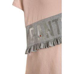 IKKS TEE  Tshirt z nadrukiem rose poudre. Czerwone t-shirty damskie IKKS, z nadrukiem, z bawełny. Za 149,00 zł.