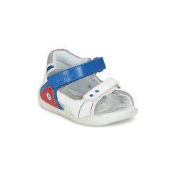 Sandały Dziecko  Chicco  GIULIO. Białe sandały chłopięce Chicco. Za 125,30 zł.