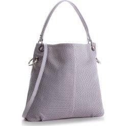Torebka CREOLE - K10483  Szary. Szare torebki klasyczne damskie Creole, ze skóry. W wyprzedaży za 229,00 zł.