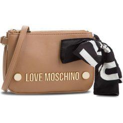 Torebka LOVE MOSCHINO - JC4308PP06KU0201 Cammello. Brązowe listonoszki damskie Love Moschino, ze skóry ekologicznej. Za 719,00 zł.