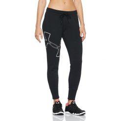 Under Armour Spodnie damskie Big Logo Fleece Jogger czarne r. XS (1320611-001). Czarne spodnie sportowe damskie marki Under Armour, xs. Za 151,66 zł.