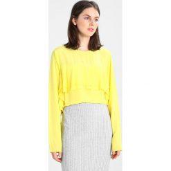 Bluzki asymetryczne: Second Female NORA BLOUSE Bluzka buttercup