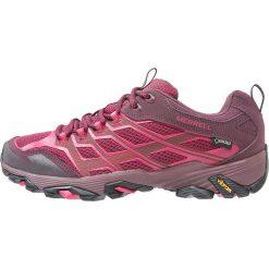 Merrell MOAB FST GTX Obuwie hikingowe beet red. Niebieskie buty sportowe damskie marki Merrell, z materiału. W wyprzedaży za 449,25 zł.