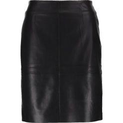 Spódniczki ołówkowe: comma Spódnica ołówkowa  black