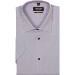 Koszula bexley 2214 krótki rękaw custom fit w. Brązowe koszule męskie marki QUECHUA, m, z elastanu, z krótkim rękawem. Za 29,99 zł.