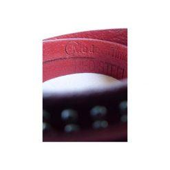 Bransoletka Red Leather. Brązowe bransoletki damskie na nogę marki Sinsay. Za 39,90 zł.