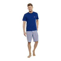Piżama Tope 35713-59X. Niebieskie piżamy męskie Henderson, m. Za 99,90 zł.