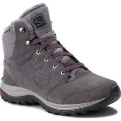 Trekkingi SALOMON - Ellipse Freeze Cs Wp 404697 23 V0 Magnet/Quiet Shade/ Hibiscus. Szare buty trekkingowe damskie Salomon. W wyprzedaży za 429,00 zł.